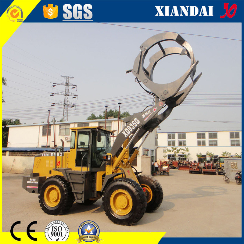 Wheel Loader Xd935g with Joystick Made in China for Sale
