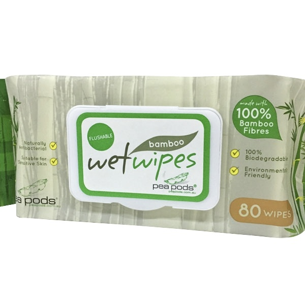 100% Bamboo Firber Spunlace Baby Wipes