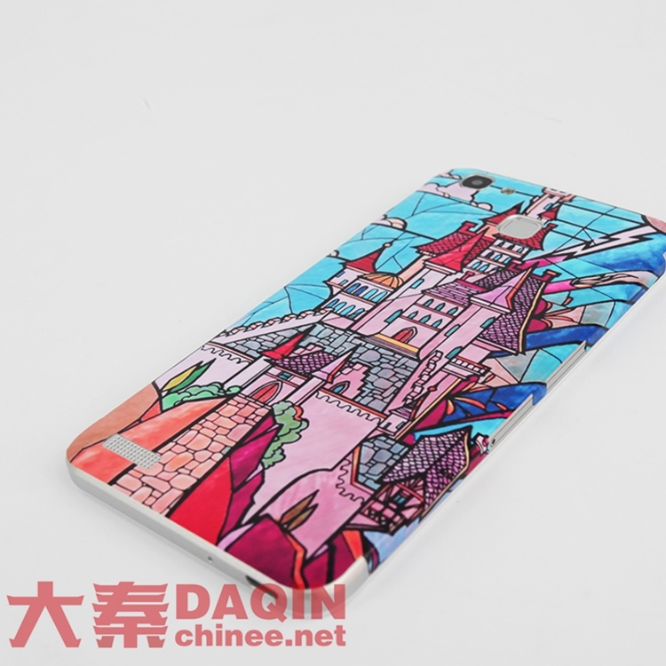 Phone Cover Sticker Making Machine with Design Software