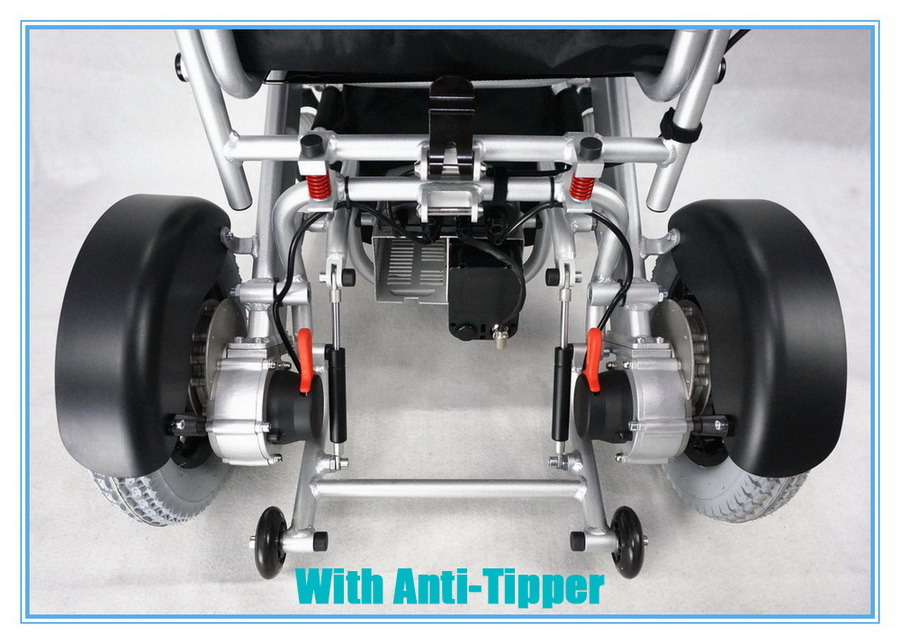 Tiny 4L Folding Electric Wheelchair