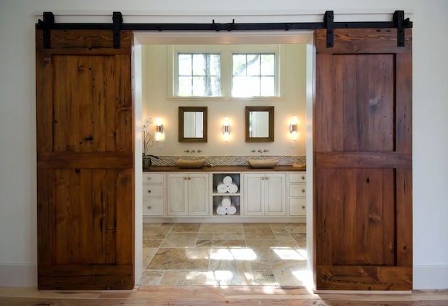Modern Sliding Barn Door and Door Hardware