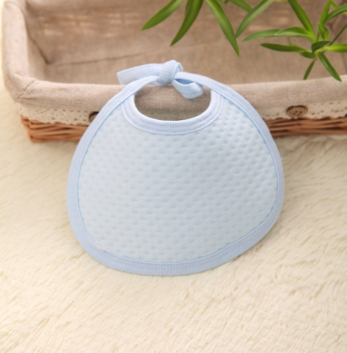 Cheap Cotton Baby Bib with Lacing Made From China