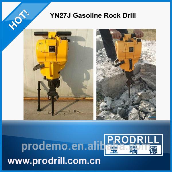 Internal Combustion Handheld Yn27c Rock Drill Drilling Machine