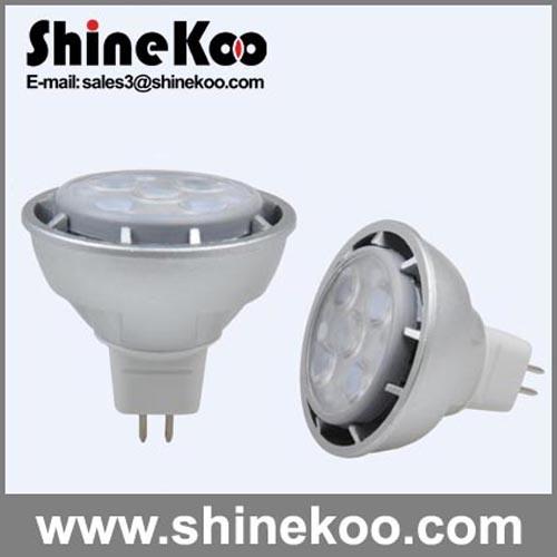 Aluminium MR16 7W LED Spotlight (SUN10-MR16-7W-H)