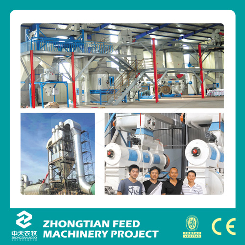 High Capacity Complete Wood Pellet Mill Production Line