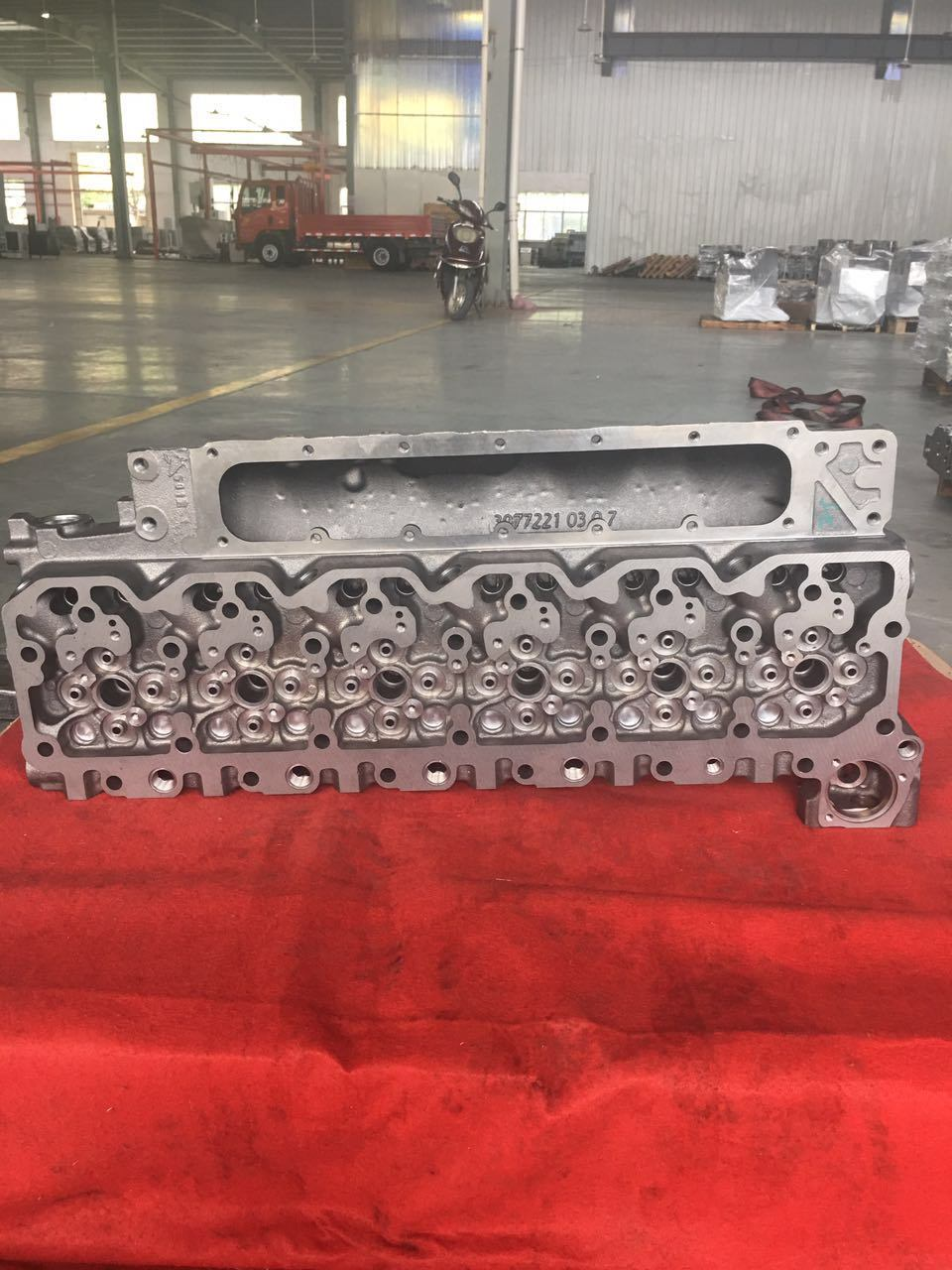 Cylinder Head Cummins Engine Part for 6isde