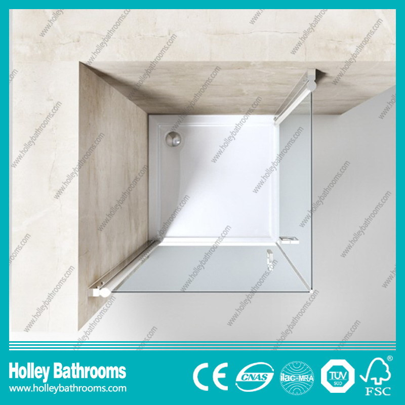 Pivot Door Double Doors Selling Simple Shower Enclosure-Se703c