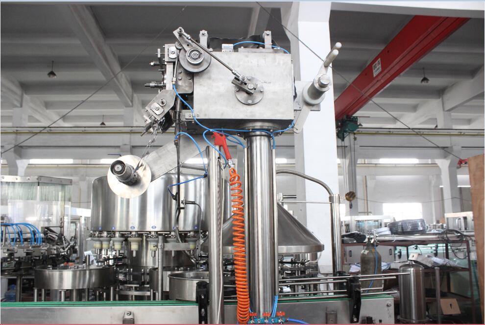 Automatic Pet Bottle Milk Filling Machine