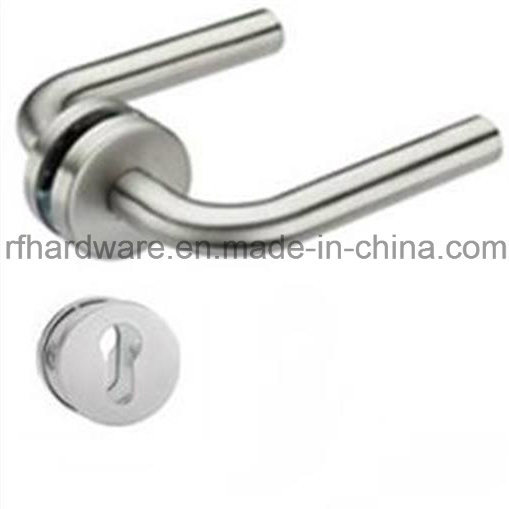 Hollow Stainless Tube Level Door Handle (RL002)