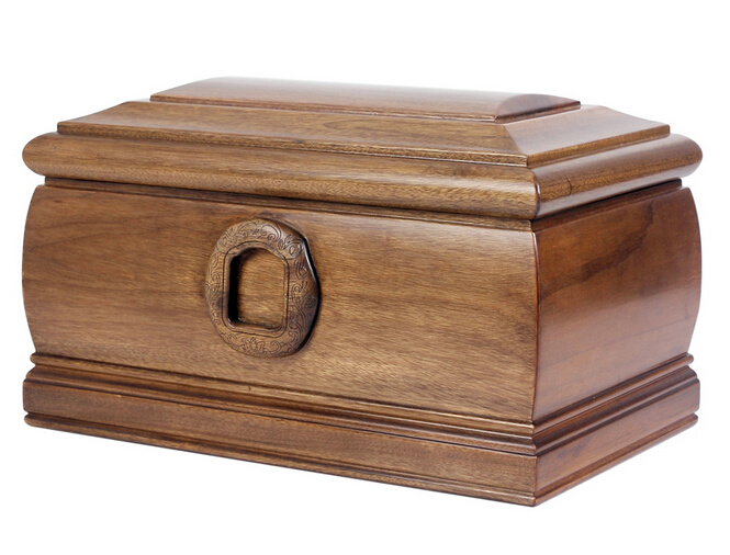 Respected Wooden Funeral Coffin