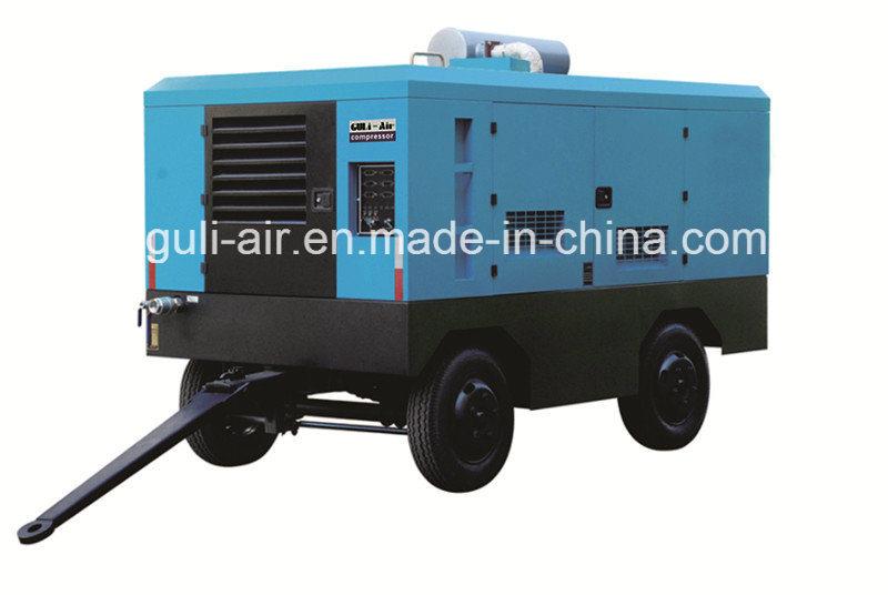 Portable Diesel Engine Driven Screw Air Compressor