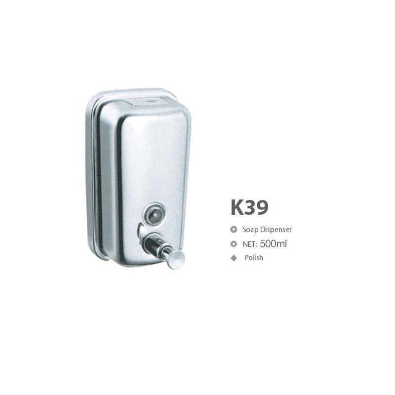 High Quality Stainless Steel Bathroom Hardware Soap Dispenser