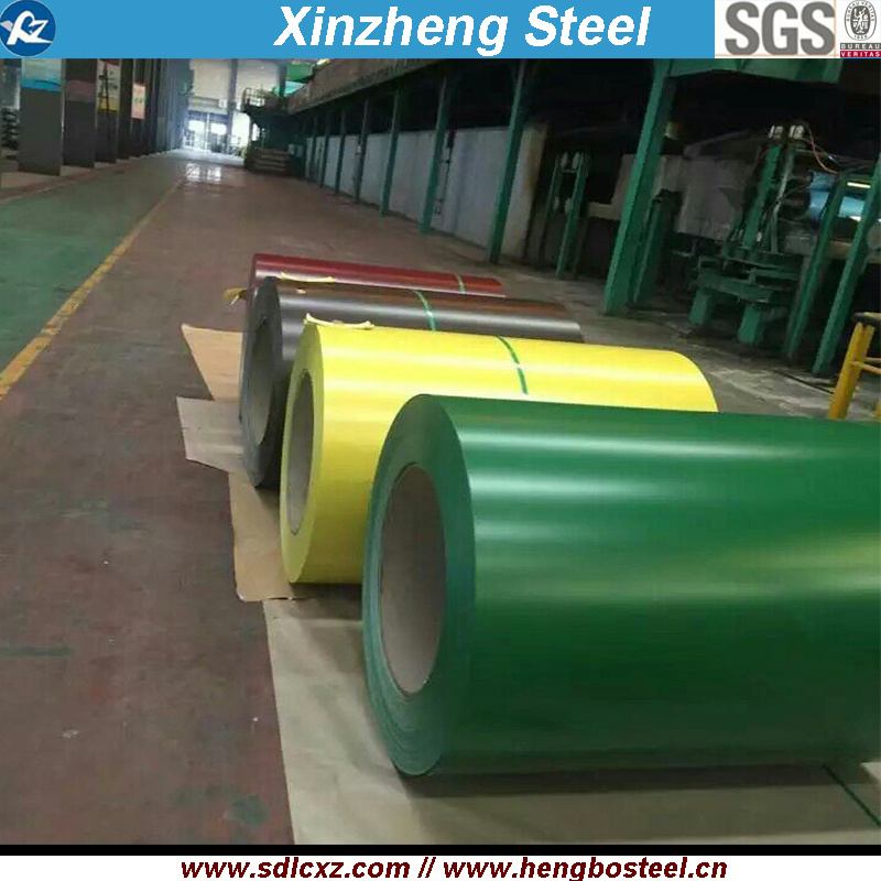 Roofing Sheet Color Coated Steel Coil for Building Material