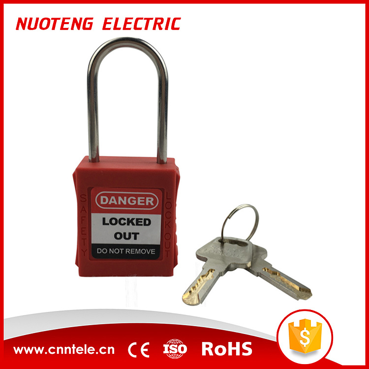 4mm Shackle 40mm Length Master Lock Safety Lockout Padlock