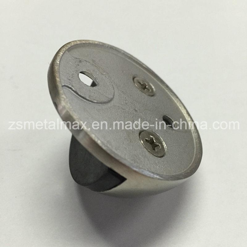 Stainless Steel Zinc Alloy Shielded Rubber Door Stop (MD001)
