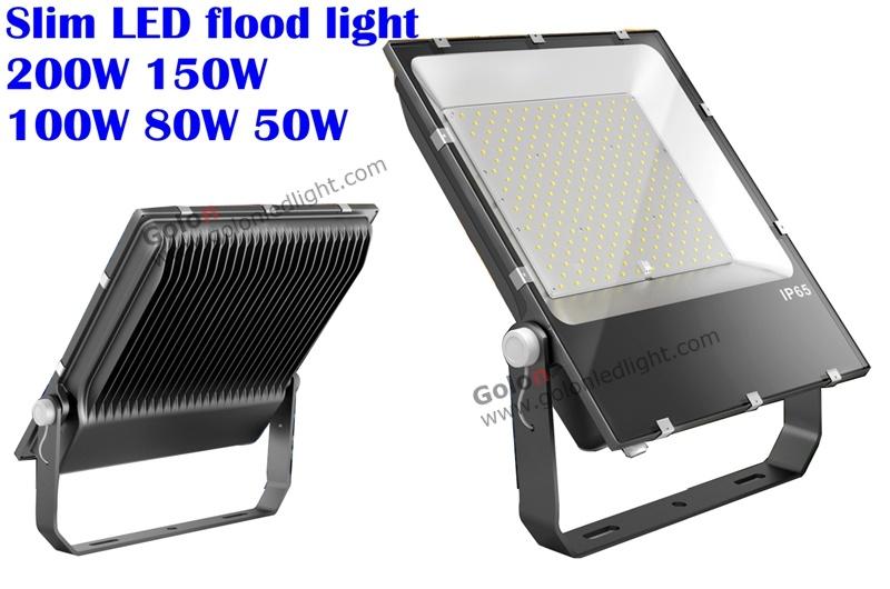 Low Price Flood Light 200W 150W 100W 80W 50W 30W 20W 10W Philips SMD High Quality Slim Floodlight
