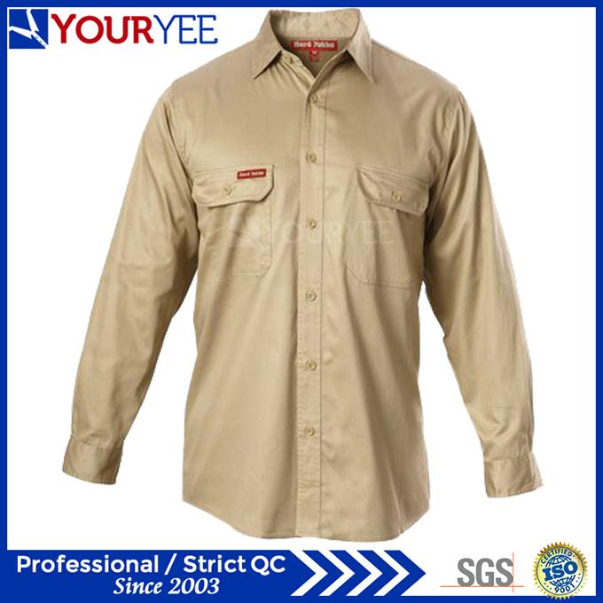 Cheap Work Shirts Wholesale Workwear Shirts (YWS115)