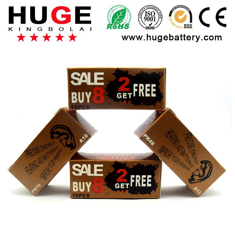 1.4V Hearing Aid Battery A675/A10/A13/A312