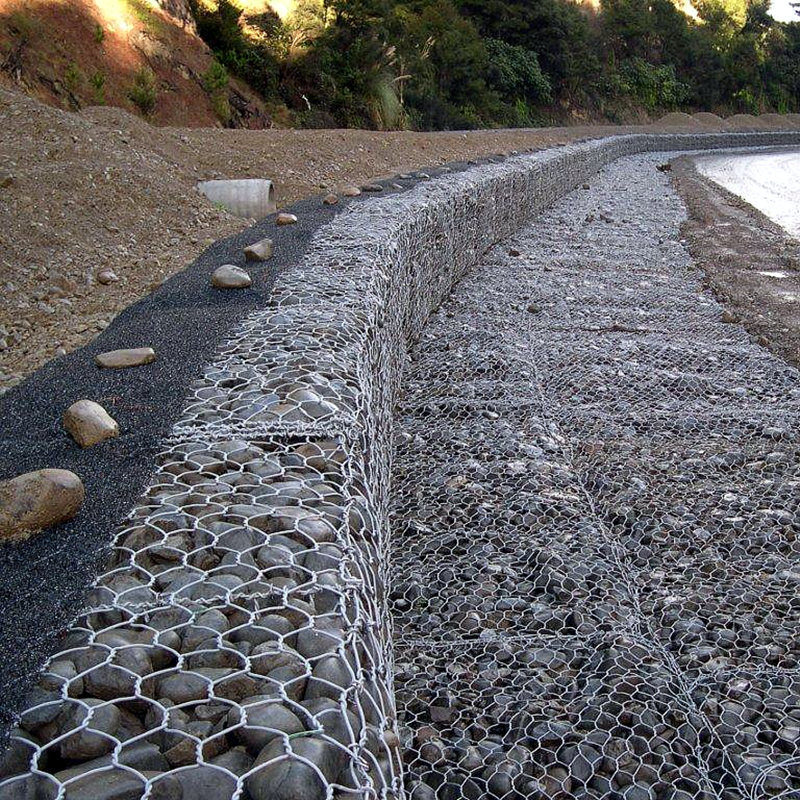 China Premium Galvanized Gabion Box Mesh for Retaining Wall