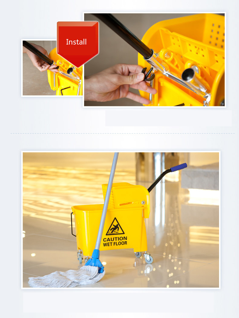 Mini Mop Wringer with Plastic (YG-068)