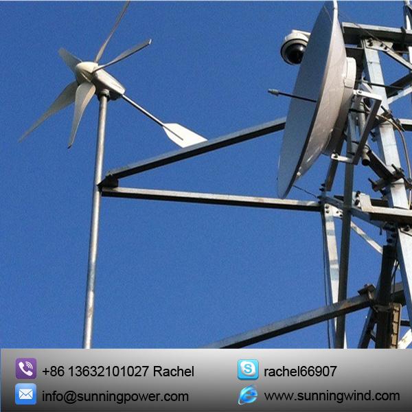 600W High Quality off Grid Power Supply Wind Turbine Generator