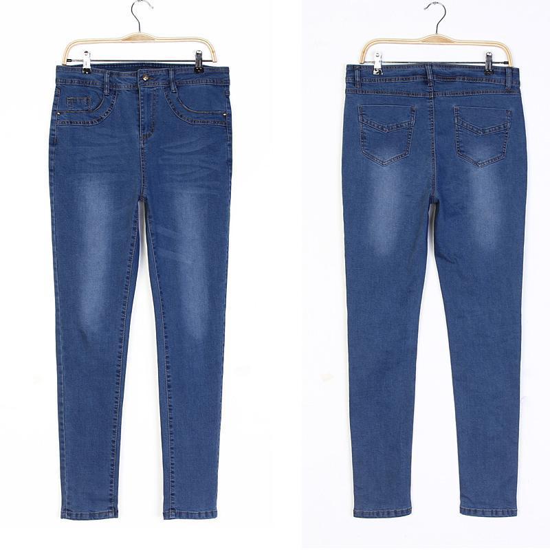 Factory 2017 Designer Women′s Fashion Skinny Denim Jeans