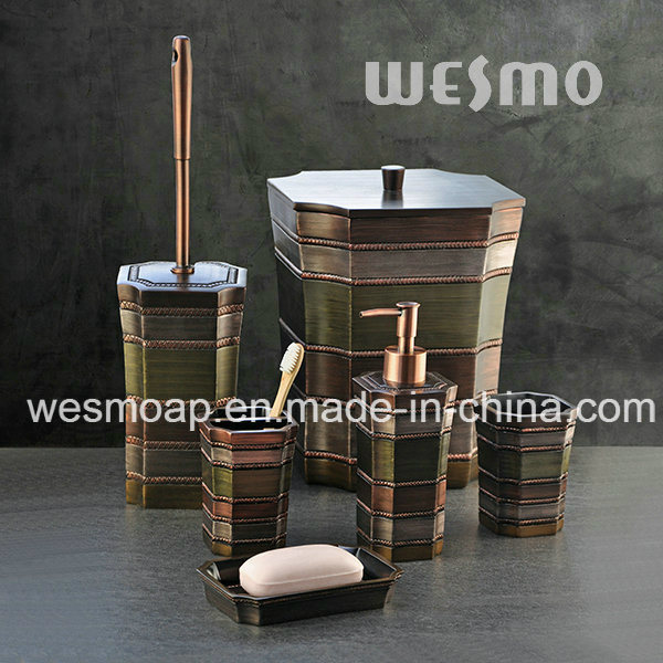 Middle East Style Multicolor Polyresin Bathroom Accessories (WBP1123A)
