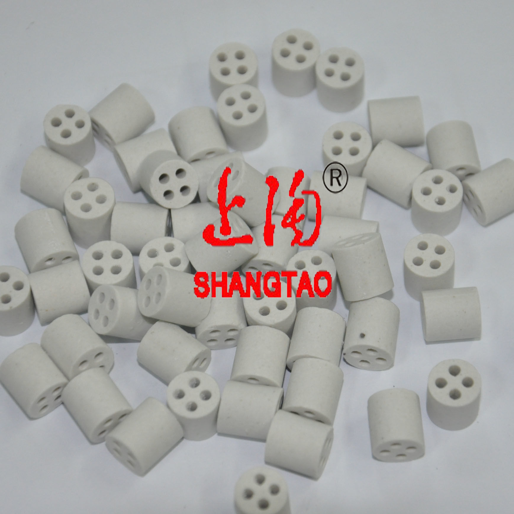 Al2O3 Alumina Ceramic Insulator for Thermocouple (2 bore, 4 bore, 5 bore)