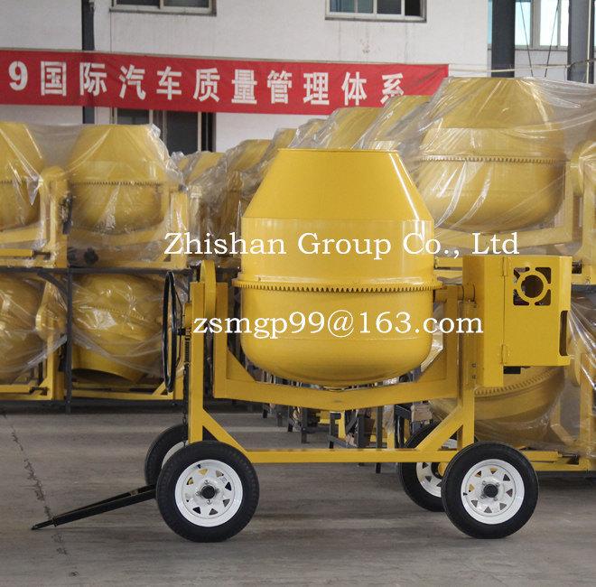 CM700 (CM50-CM800) Zhishan Portable Electric Gasoline Diesel Concrete Mixer