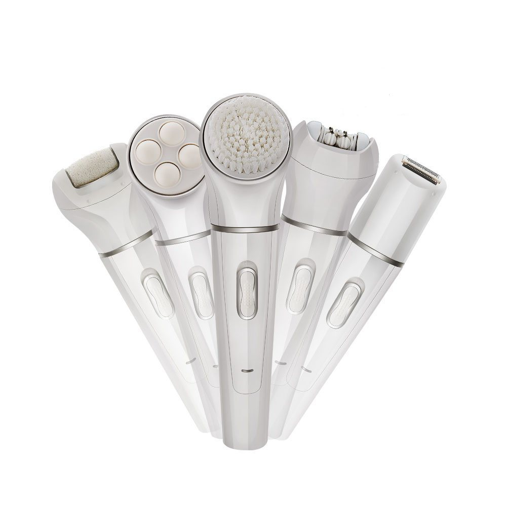 Skin Care Product Electric Cleaning Brush with Facial Massager