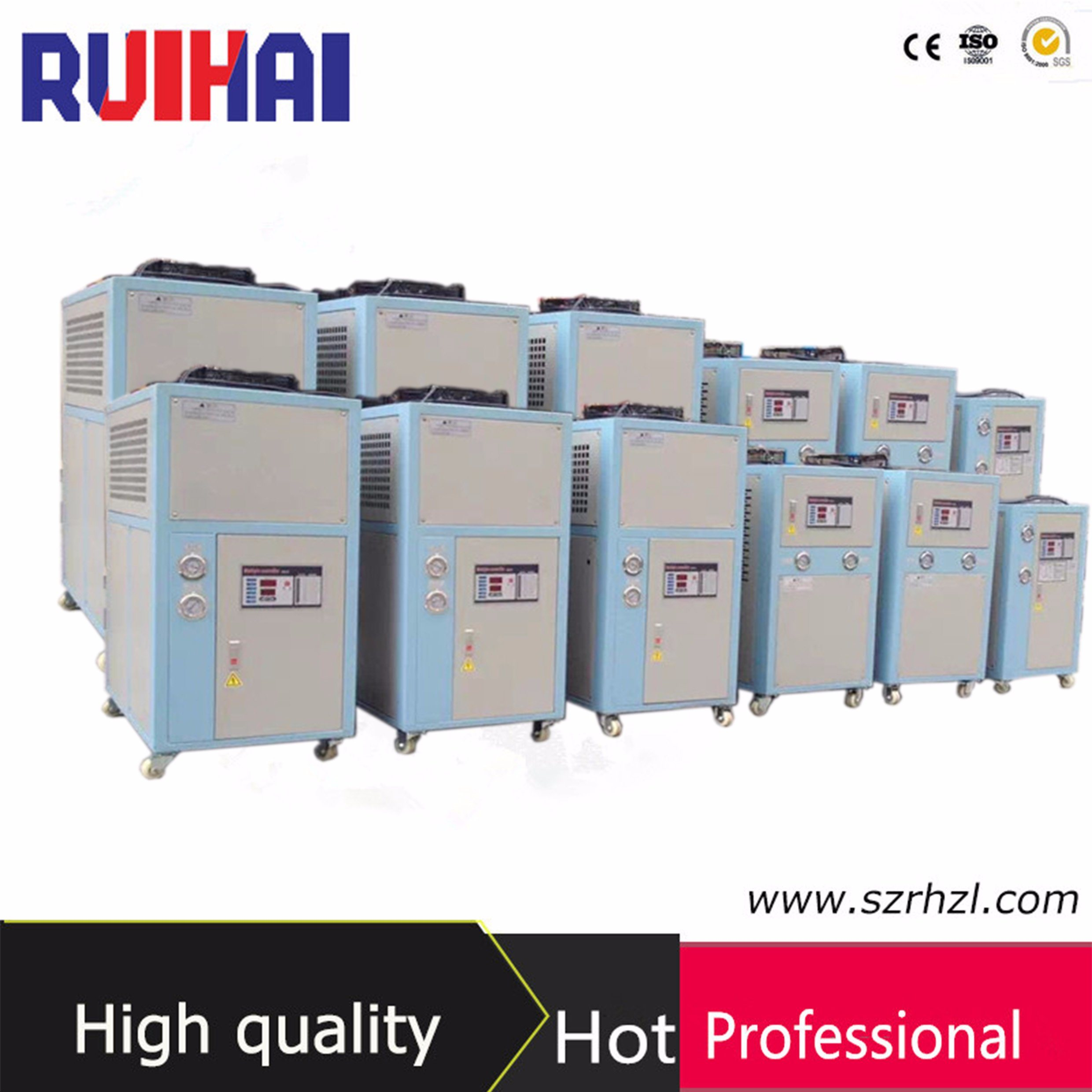 2HP Small Chiller Air Cooled Type for 120 Ton Injection Molding Machine Cooling