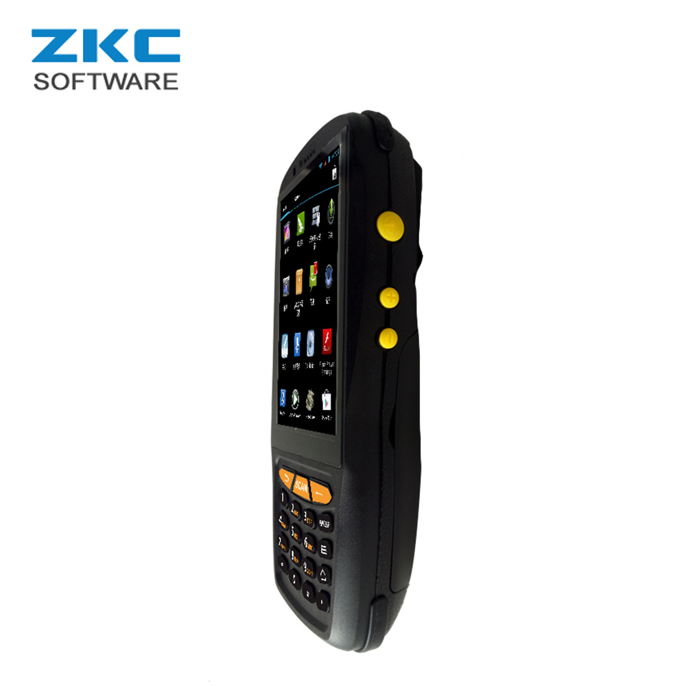 Zkc PDA3503 China Qualcomm Quad Core 4G 3G GSM Android 5.1 Handheld PDA Outdoor Qr Code Barcode Reader