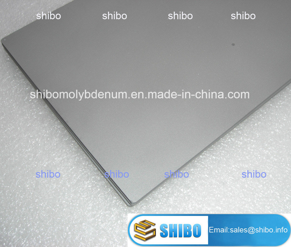 High Temperature Mla Molybdenum Plates