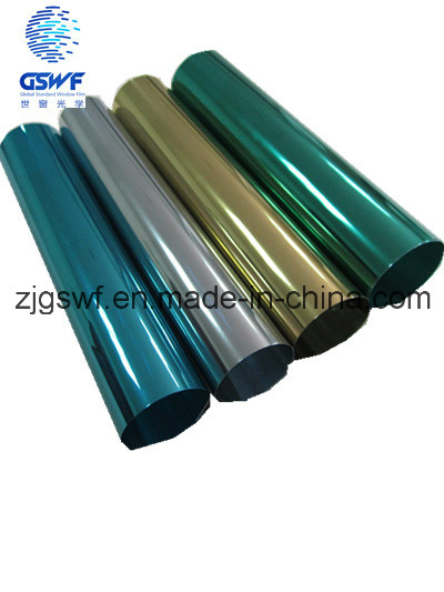 Colors Silver Building Window Film (SF103)