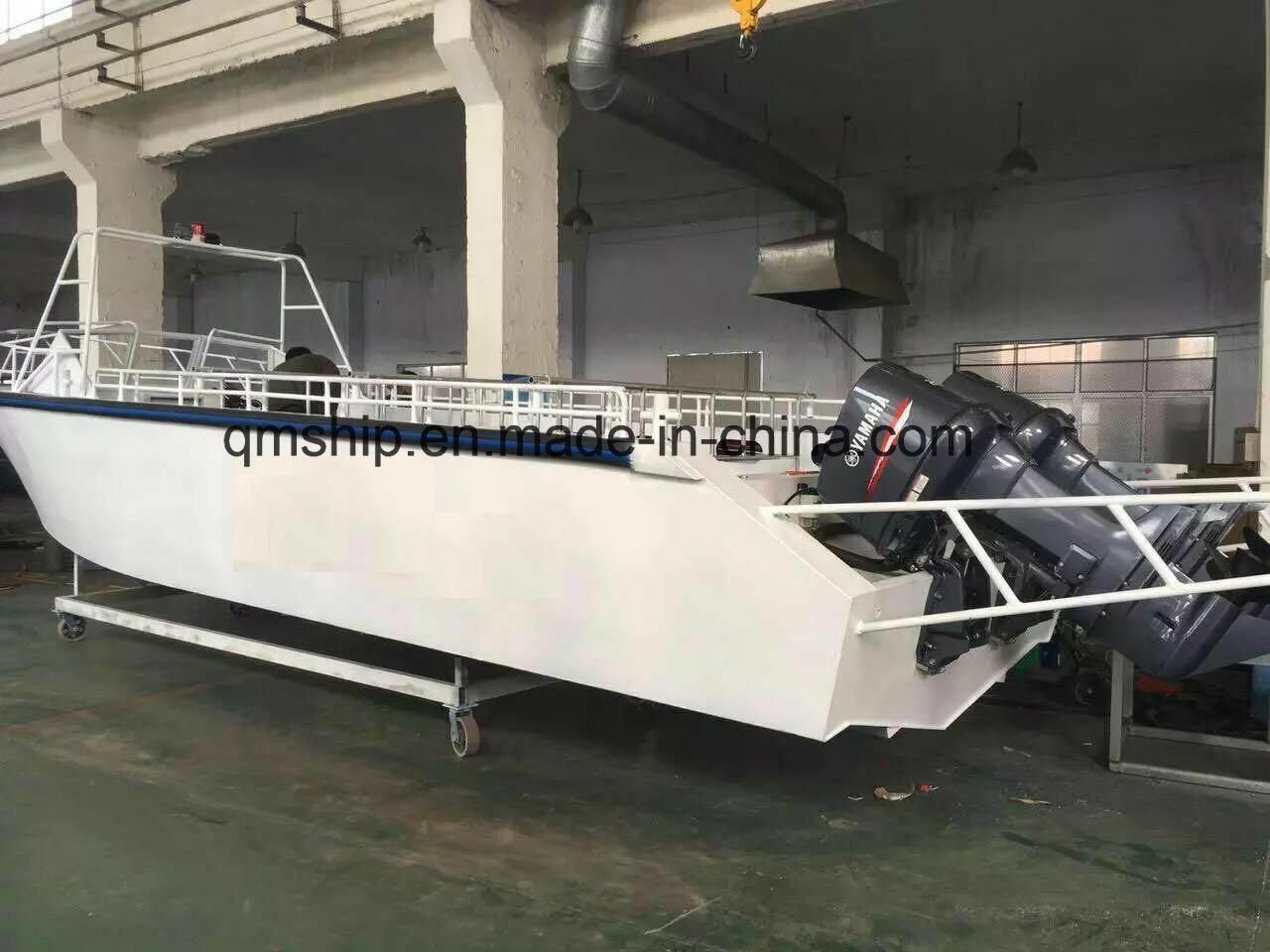 20FT 6.1m Open Top Pleasure Power Boat Qm6100