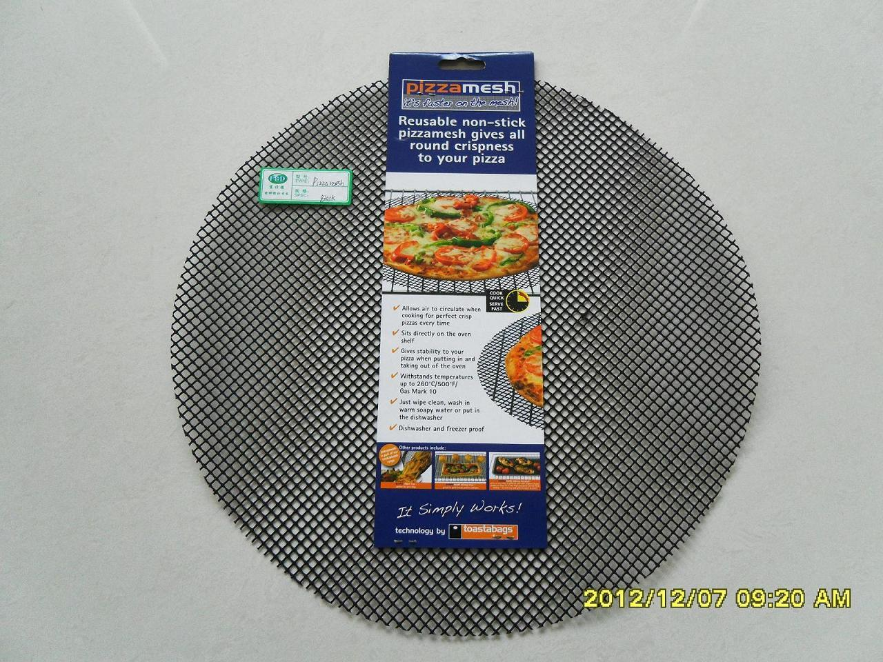 Pizza Mesh Fabric