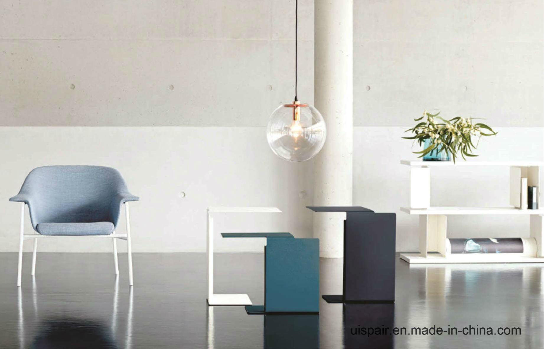 Uispair 100% Steel Modern Side-Type Office Hotel Home Living Dining Room Bedroom Coffee Table