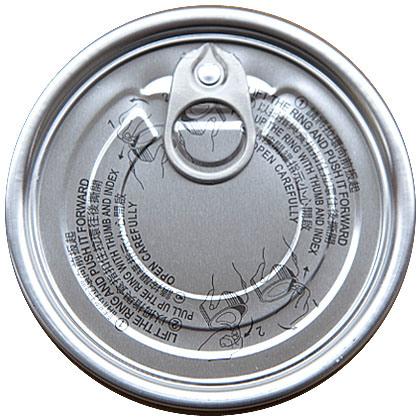 211# Aluminum Easy Open end