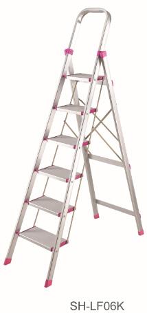 Step Stool Foldable Aluminum Ladder (SH-LF06K)