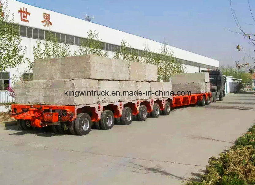 China 200t Multi-Axle Lowbed Trailer