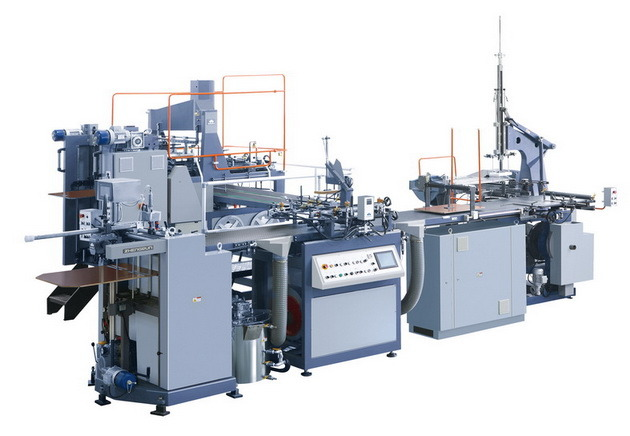 Automatic Rigid Box Making Machine