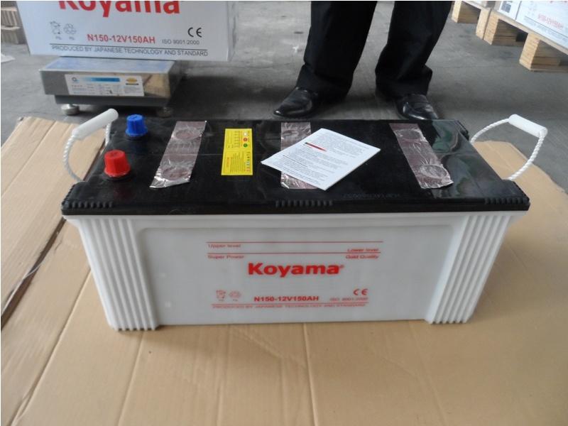 Hot Sale Heavy Duty Truck Battery - (N150) -12V150ah