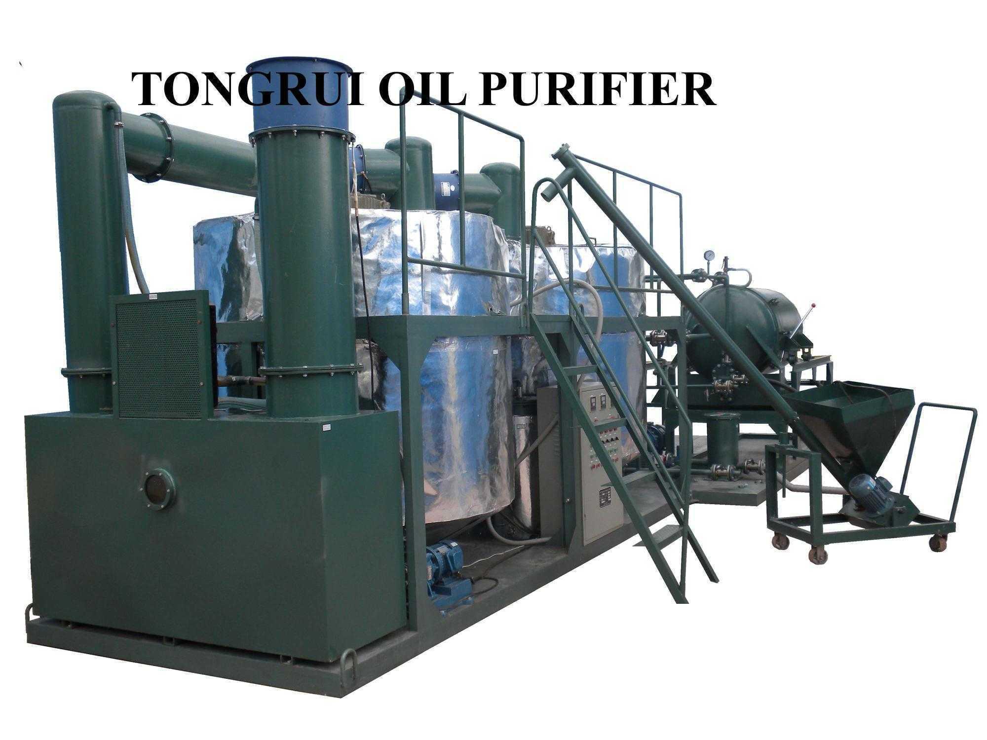 China Black Diesel Engine Oil Treatment System Waste Oil