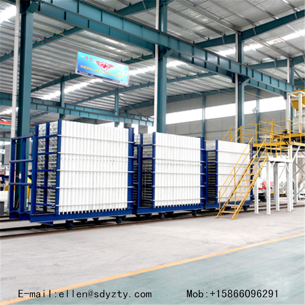 The Machine for Making Sandwich Wall Panel
