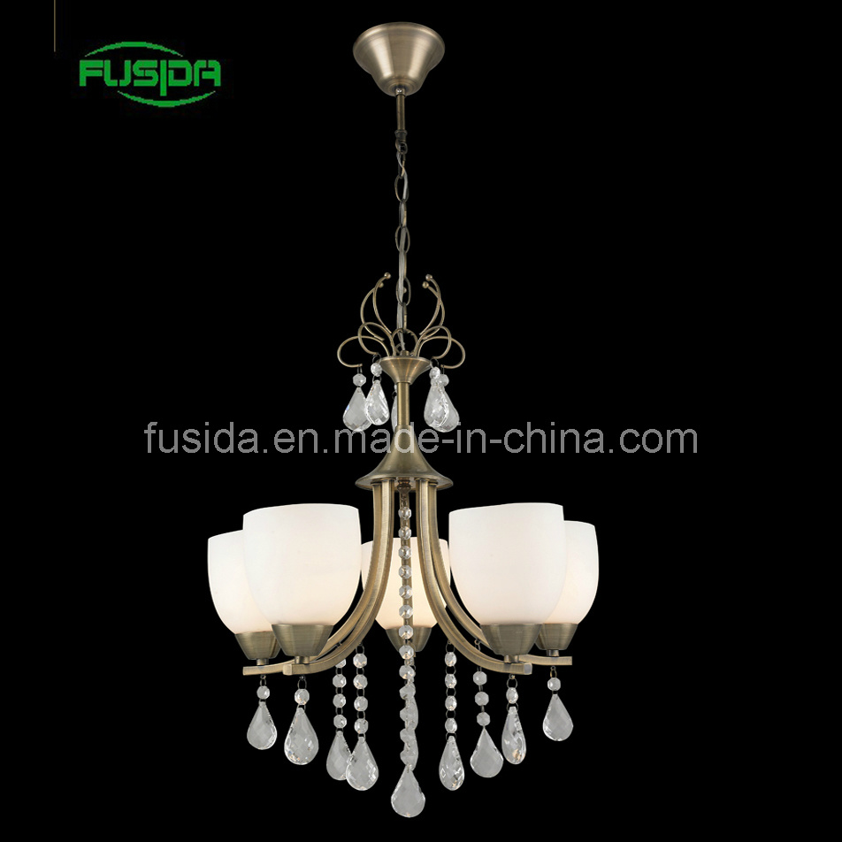 New Desighn in 2013 Eropean Iron Crystal Chandelier (D-8146/5)