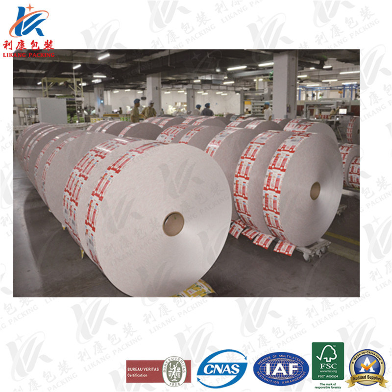 Aseptic Laminated Packaging Paper for Dairy Products