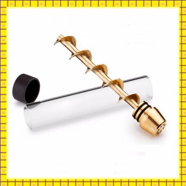 2017 Best Selling 7pipe Vaporizer Twisty Glass Blunt Pipe