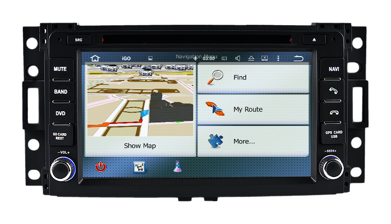 Car Radio Car DVD Player for Hummer H3
