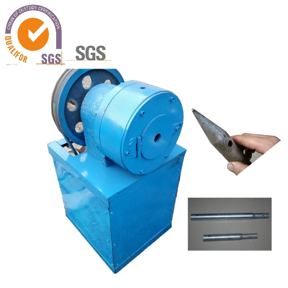 Wrought Iron Shrinking Machine/Taper Shrinking Machine/Reducing Pipe Diameter Machine for Greenhouse