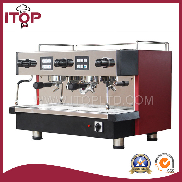 11L Professional Double Group Commercial Espresso Coffee Machine (CM-11.2)